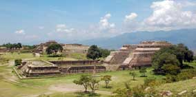 Nearby Ruins of Monte Alban