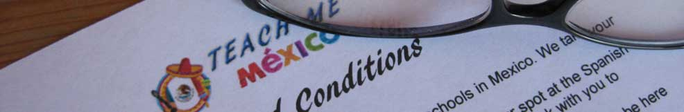 Teach Me Mexico Terms and Conditions